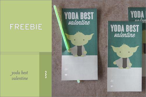 Freebie :: Yoda Best Valentine